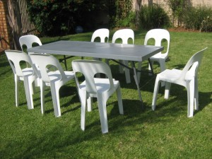 Tables and Chairs for Hire Alberton